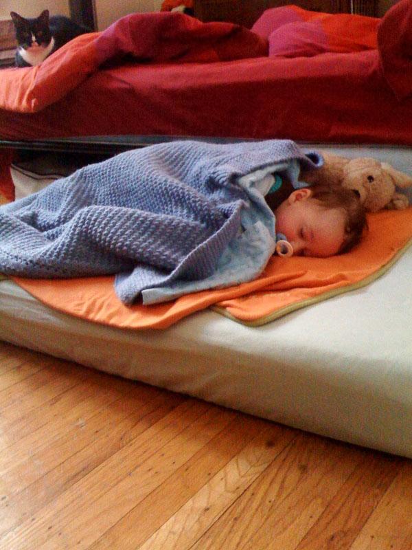 03-21-01_Asleep_on_Mattress
