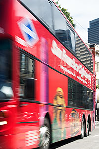 San Francisco tour bus